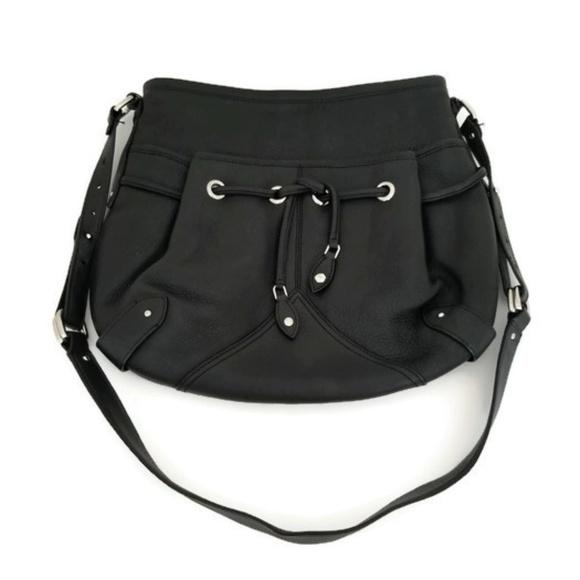 Cole Haan Handbags - Cole Hann Black Leather Purse Adjustable Strap